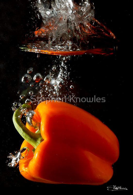 Plunging Pepper by Stephen Knowles