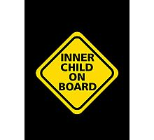 Inner Child on Board Photographic Print