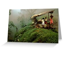 Colombian Road Stand Greeting Card