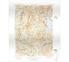USGS TOPO Map New Hampshire NH Cardigan 329948 1927 62500 Poster