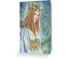 Faery Queen Greeting Card