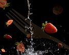 Strawberrie fall by Jemma Richards