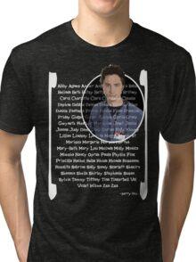 JD girls nick names Tri-blend T-Shirt