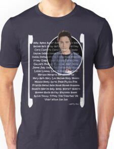 JD girls nick names Unisex T-Shirt