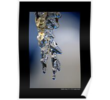 Melting Icicle Poster