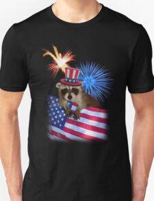 Patriotic Raccoon T-Shirt