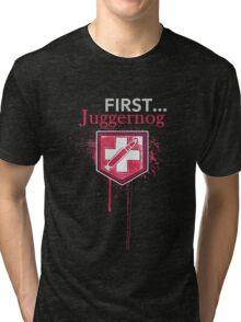 First... [Zombies] Tri-blend T-Shirt