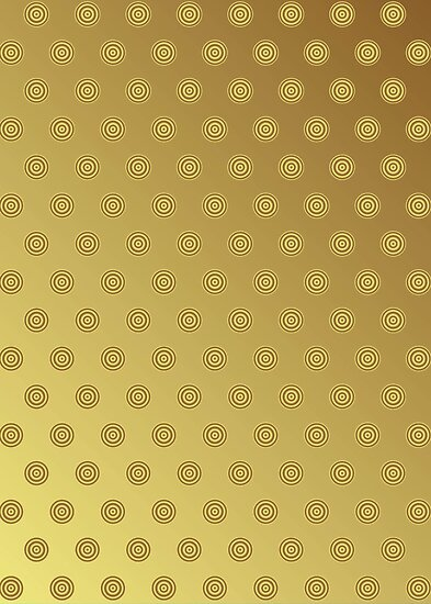 Polka Dot Gold by Medusa81
