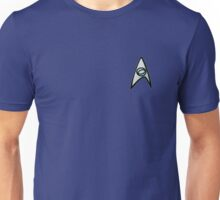 Star Trek science shirt badge Unisex T-Shirt