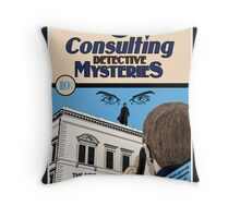 Consulting Detective Mysteries Throw Pillow