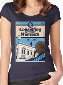 Consulting Detective Mysteries Women's Fitted Scoop T-Shirt