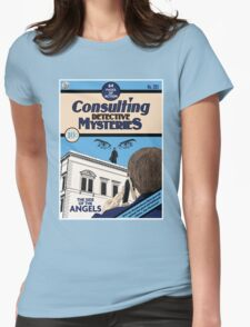 Consulting Detective Mysteries Womens Fitted T-Shirt
