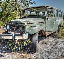 Forgotten Toyota in Fox Hill Village, The Bahamas by 242Digital