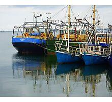 Irish Fishing Boats Photographic Print