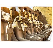 Lost Guardians - Avenue of Sphinxes Poster