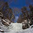 Deep Freeze at Harrison Wrights Falls by Mark Van Scyoc