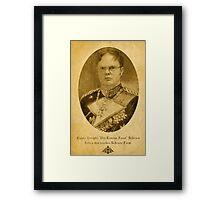 Kaiser Dwight Framed Print
