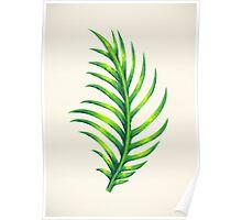 Tropical Leaf III Poster