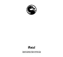 Mortal Kombat Logo (White Apple Icon Replacement) by huckblade