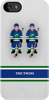 "8-Bit Hockey Stars - ""Twins"" by pootpoot"