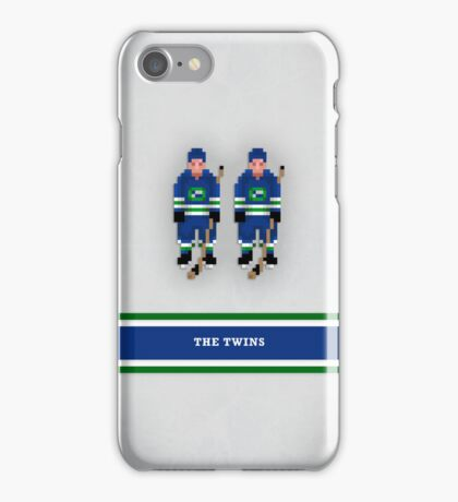 "8-Bit Hockey Stars - ""Twins"" iPhone Case/Skin"