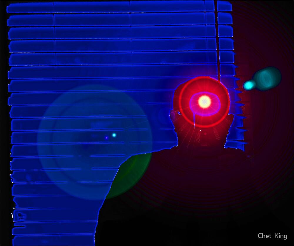 Cyclops: Self Portrait by Chet  King