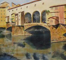 Ponte Vecchio by journeyart