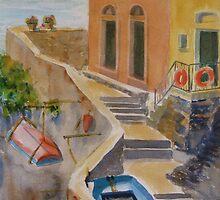 Riomaggiore by journeyart