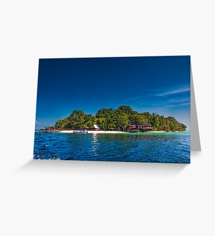 Island of Paradise Greeting Card