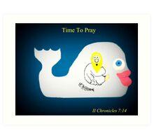 Time To Pray Art Print