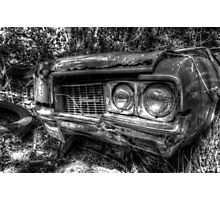 Forgotten Oldsmobile in Fox Hill Village, The Bahamas Photographic Print
