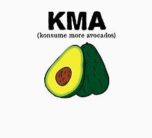 kma/(konsume more avocados)  Womens Fitted T-Shirt