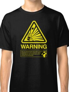 Empire Warning Label Classic T-Shirt