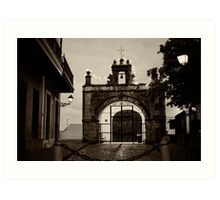 Small Chapel of San Juan Art Print