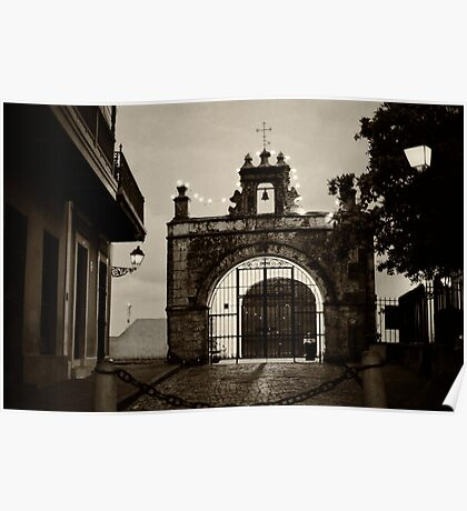 Small Chapel of San Juan Poster