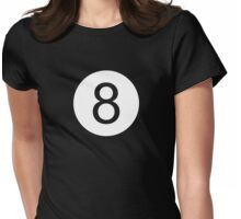 8 Ball Womens Fitted T-Shirt