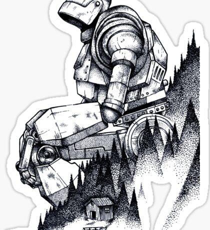 Iron Giant Sticker