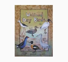 Wetland Day Birds Unisex T-Shirt