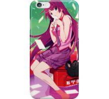 Hitagi Senjougahara iPhone Case/Skin