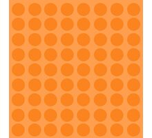 Orange Pattern Photographic Print