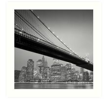Brooklyn Bridge, Study 6 Art Print