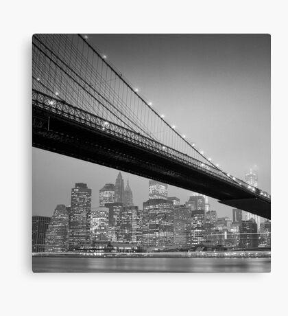 Brooklyn Bridge, Study 6 Canvas Print