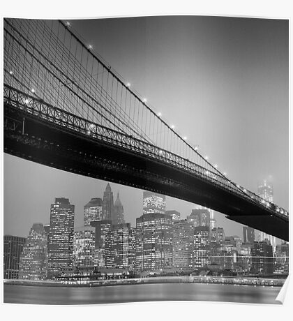 Brooklyn Bridge, Study 6 Poster