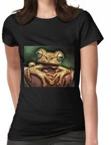 Wild nature - reptile #3 Womens Fitted T-Shirt