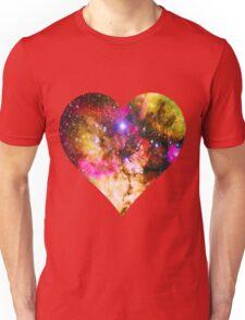 Galaxy Heart Tee One Unisex T-Shirt