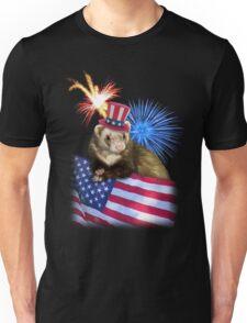 Patriotic Ferrot Unisex T-Shirt