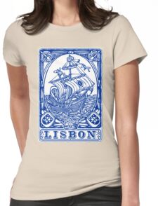 Lisbon Traditional Tiles Azulejos Womens Fitted T-Shirt