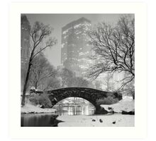 Gapstow Bridge, Study 2 Art Print