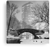 Gapstow Bridge, Study 2 Canvas Print