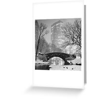 Gapstow Bridge, Study 2 Greeting Card
